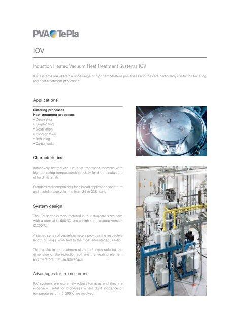 datasheet - PVA TePla AG