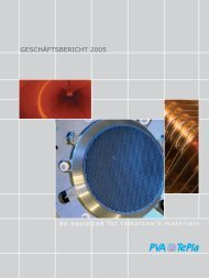 GESCHÄFTSBERICHT 2005 - Investor Relations Center