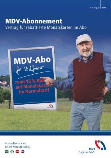 MDV-Abonnement
