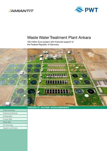 Waste Water Treatment Plant Ankara - PWT Wasser- und ...