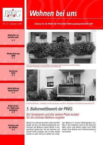 Ausgabe #15 herunterladen - Pwg-premnitz.de