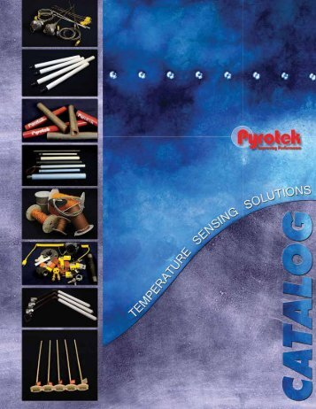 Thermocouple Catalog (North America) - English (Letter) - Pyrotek