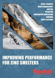 Improving Performance for Zinc Smelters - English (A4) - Pyrotek