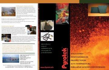 Productos para aislamiento eléctrico Recubrimientos ... - Pyrotek