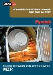 Sistema di recupero dello zinco Metaullics TECNOLOGIA ... - Pyrotek