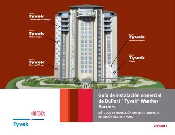 Guía de instalación comercial de DuPont™ Tyvek® Weather ...