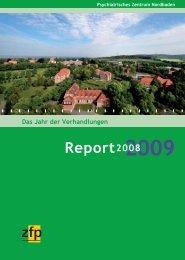 Report 2009 - Psychiatrisches Zentrum Nordbaden