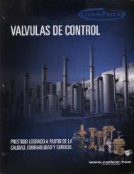 VALVULAS DE CONTROL - COMEVAL