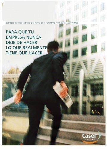 Empresas, Mantenimiento y Reformas - Descargar PDF - CASER ...