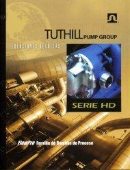 Page 1 Page 2 Bombas de proceso Tuthill Serie HD PISTÓN ...