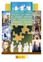 información sobre mercado de trabajo de jovenes, personas con ...