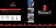 Descargar Catálogo PDF - Empresas Sinsef Ltda