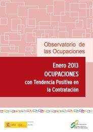 Ocupaciones con tendencia positiva en la contratación - Servicio ...