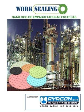 catalogo empaquetaduras worksealing - ayagon