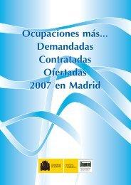 Ocupaciones más... Demandadas Contratadas Ofertadas 2007 en ...