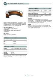 K151 Es un conjunto de empaquetadura de tres piezas de simple ...