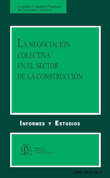 la negociación colectiva en el sector de la construcción