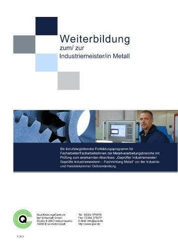 Qualifizierungscentrum magazine for Raumgestaltung weiterbildung