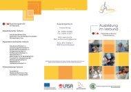Flyer Verbundausbildung (pdf) - QualifizierungsCentrum der ...
