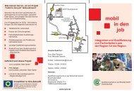 Flyer mobil in den job.cdr - QualifizierungsCentrum der Wirtschaft ...