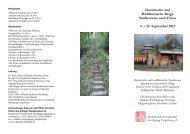 Daoistische und Buddhistische Berge Studienreise nach China 4 ...