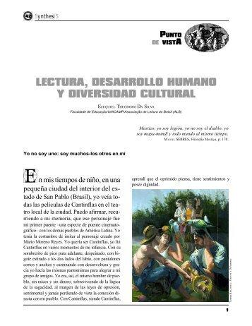 LECTURA, DESARROLLO HUMANO Y DIVERSIDAD CULTURAL