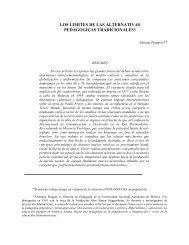 los limites de las alternativas pedagogicas ... - Biblioteca UAH