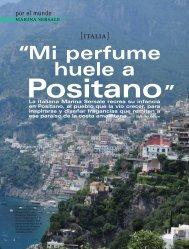 Mi perfume huele a Positano - Eau d'Italie