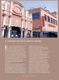 EL MERCADO DE ANTÓN MARTÍN. MADRID - Mercados Municipales