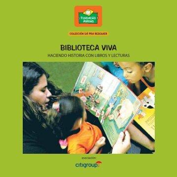 BIBLIOTECA VIVA - Fundação Abrinq