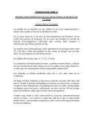 PRODUCCION RORSCHACH EN EL DUELO POR LA MUERTE DE ...