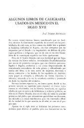 algunos libros de caligrafía usados en méxico en el siglo xvii