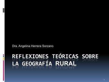 Reflexiones teóricas sobre la Geografía rural Curso Mateo.pdf - RUA