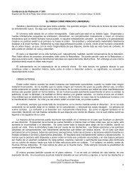 Conferencia # 205 El orden como principio ... - Pathwork México