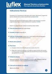 Manual Técnico de Instrucción - Protesis flexible