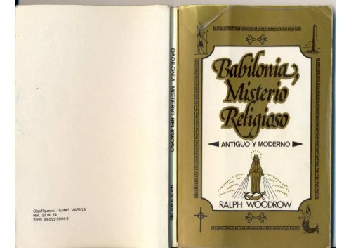 babilonia misterio religioso de ralph woodrow