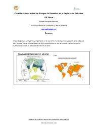 Consideraciones sobre los Riesgos de Desastres en la Exploración ...