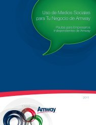 Uso de Medios Sociales para Tu Negocio de Amway ... - levysblog