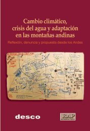 Cambio climático, crisis del agua y adaptación en las ... - Desco