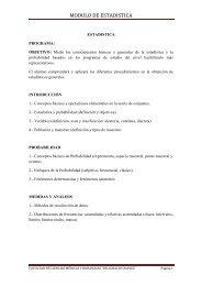 MODULO DE ESTADISTICA - Monografias.com