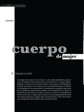 Cuerpo de mujer.pdf - Biblioteca Digital Universidad del Valle