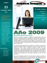 Edición No. 2 - Inicio - Logística Zona Franca