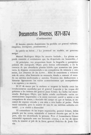 Documentos Diversos, 1871- 1874 - BAGN