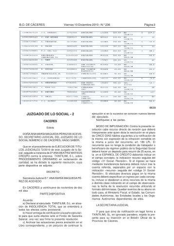 Juzgado de lo social for Juzgado seguridad social
