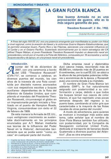 LA GRAN FLOTA BLANCA - Revista de Marina