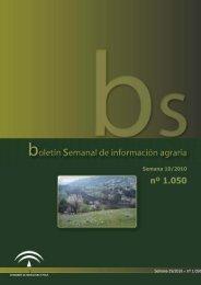 Boletín Núm. 1050, Semana 19/10, 17/05 - Junta de Andalucía