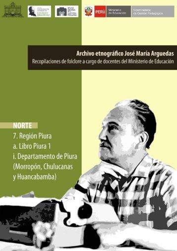 Piura 1 - Centenario José María Arguedas