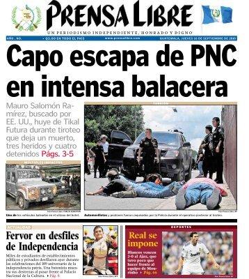 Fervor en desfiles de Independencia - Prensa Libre