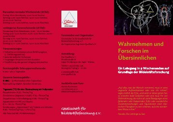 Lehrgang Bildekräfteforschung Flyer Webversion - Der Quellhof