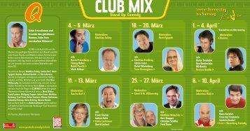 1. – 4. April - Quatsch Comedy Club